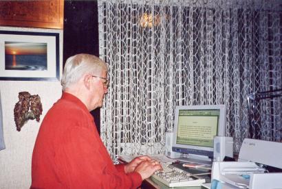 Ein neuer Text entsteht am PC (2003)